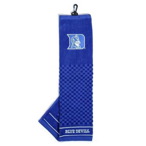 "Duke Blue Devils 16""x22"" Embroidered Golf Towel Special Order"