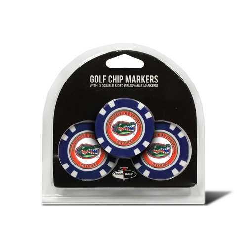 Florida Gators Golf Chip with Marker 3 Pack
