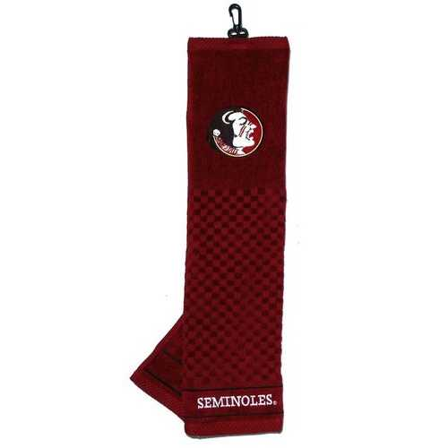 Florida State Seminoles Golf Towel 16x22 Embroidered