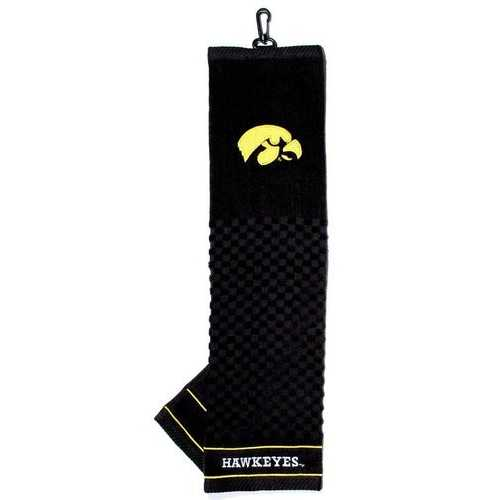 "Iowa Hawkeyes 16""x22"" Embroidered Golf Towel"