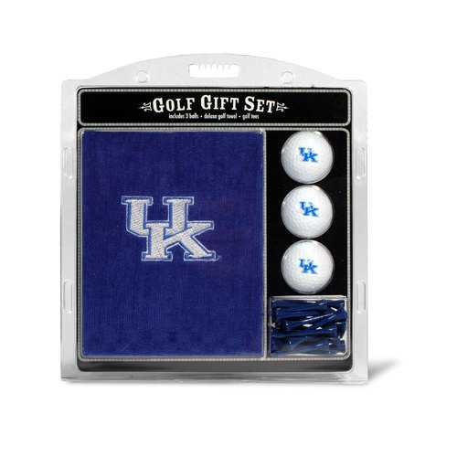 Kentucky Wildcats Golf Gift Set with Embroidered Towel