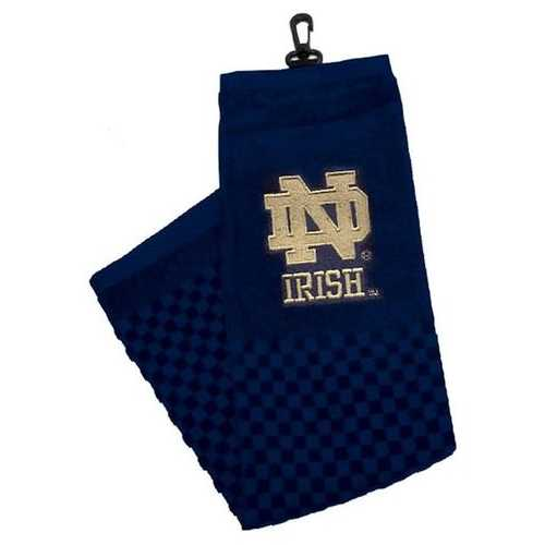 "Notre Dame Fighting Irish 16""x22"" Embroidered Golf Towel Special Order"