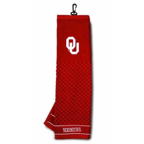 "Oklahoma Sooners 16""x22"" Embroidered Golf Towel"