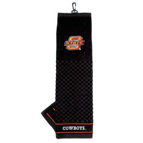 "Oklahoma State Cowboys 16""x22"" Embroidered Golf Towel Special Order"