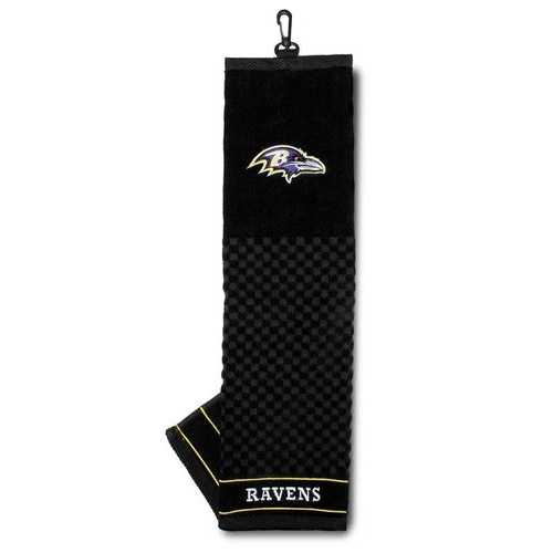 "Baltimore Ravens 16""x22"" Embroidered Golf Towel Special Order"