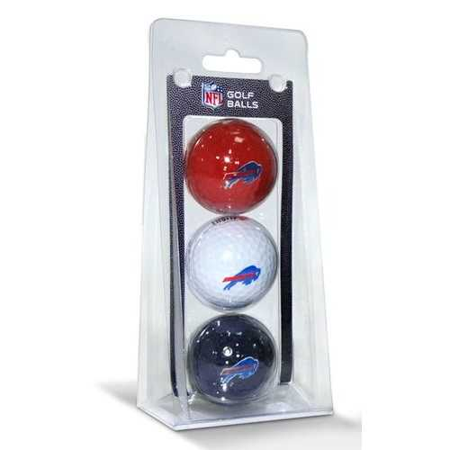 Buffalo Bills 3 Pack of Golf Balls