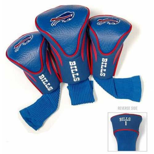 Buffalo Bills Golf Club 3 Piece Contour Headcover Set