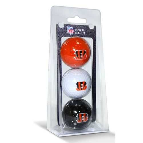 Cincinnati Bengals 3 Pack of Golf Balls Special Order