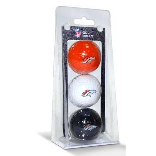 Denver Broncos 3 Pack of Golf Balls