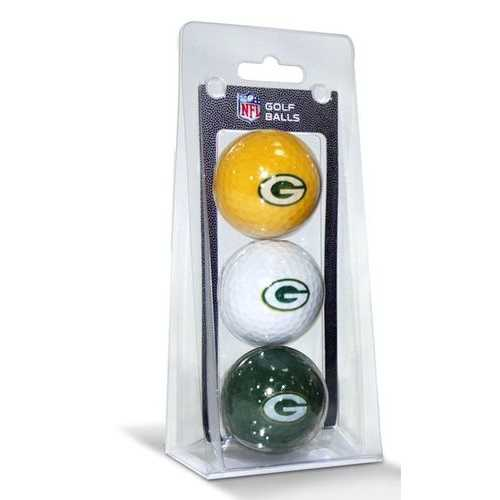 Green Bay Packers 3 Pack of Golf Balls