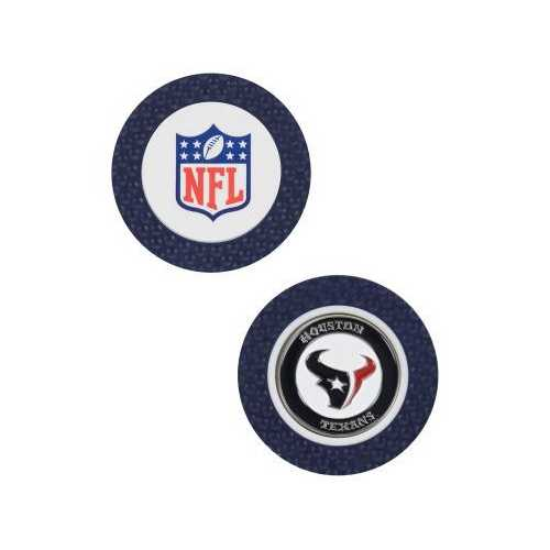 Houston Texans Golf Chip with Marker