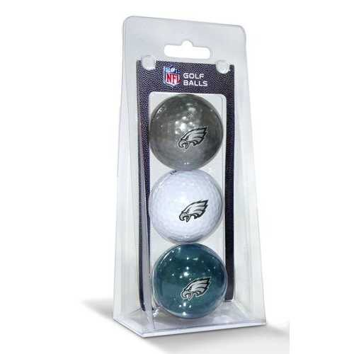 Philadelphia Eagles 3 Pack of Golf Balls