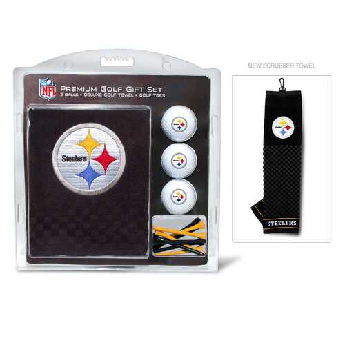 Pittsburgh Steelers Golf Gift Set with Embroidered Towel