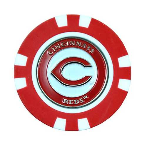 Cincinnati Reds Golf Chip with Marker - Bulk