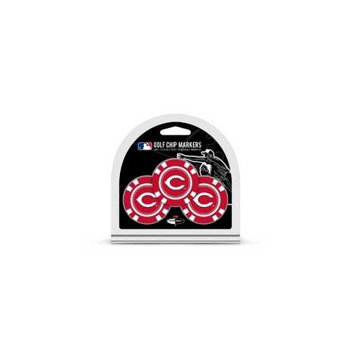 Cincinnati Reds Golf Chip with Marker 3 Pack - Special Order