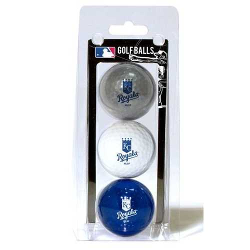 Kansas City Royals 3 Pack of Golf Balls