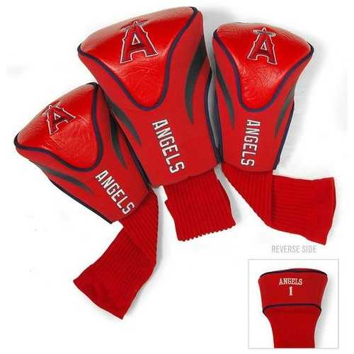Los Angeles Angels Golf Club Headcover Set 3 Piece Contour Style