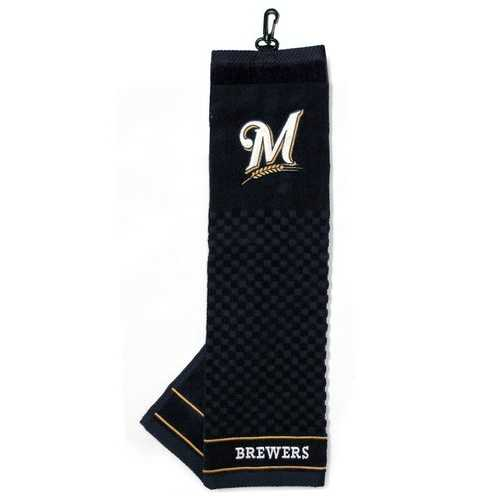 Milwaukee Brewers Golf Towel 16x22 Embroidered