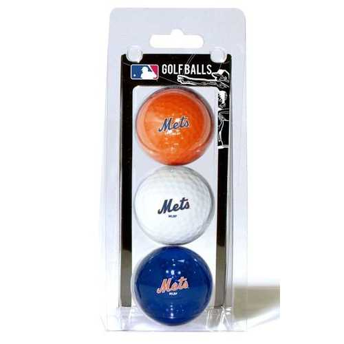 New York Mets Golf Balls 3 Pack