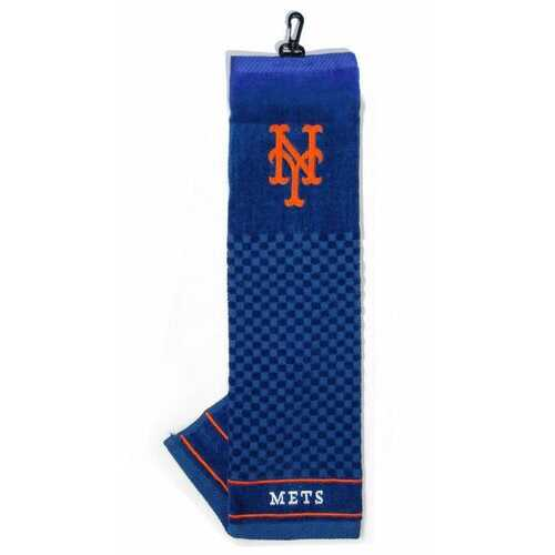 """New York Mets 16""""x22"""" Embroidered Golf Towel"""