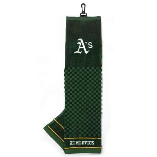 """Oakland Athletics 16""""x22"""" Embroidered Golf Towel"""