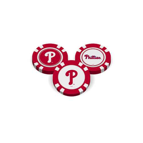 Philadelphia Phillies Golf Chip with Marker