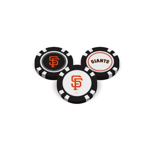 San Francisco Giants Golf Chip with Marker - Bulk