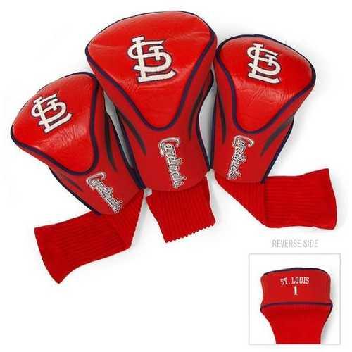 St. Louis Cardinals Golf Club 3 Piece Contour Headcover Set