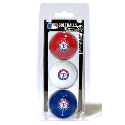 Texas Rangers Golf Balls 3 Pack Special Order