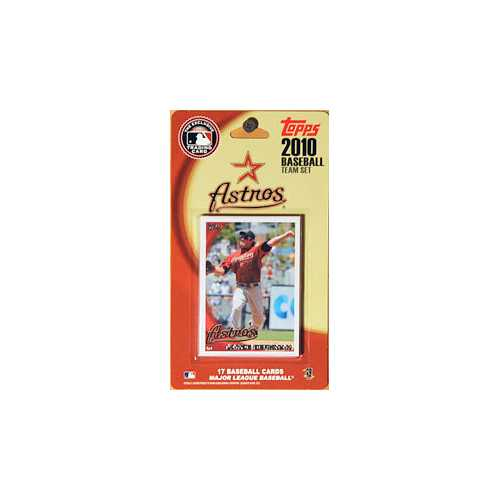 Houston Astros 2010 Topps Team Set