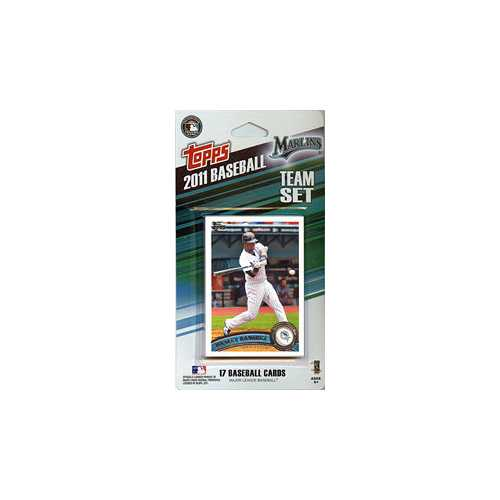 Florida Marlins 2011 Topps Team Set - Special Order