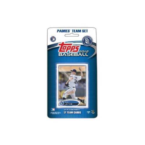 San Diego Padres 2012 Topps Team Set - Special Order
