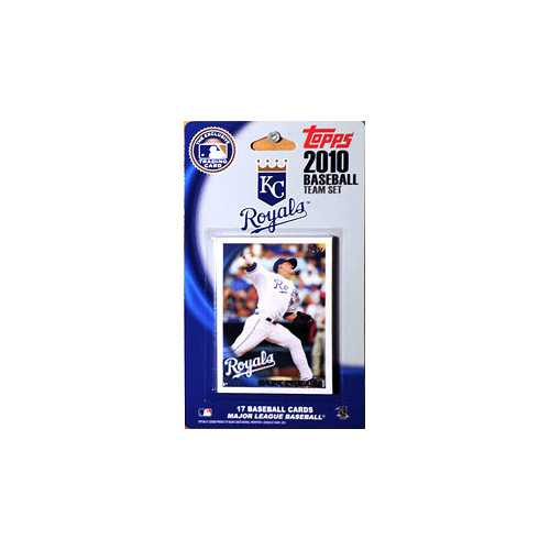Kansas City Royals 2010 Topps Team Set