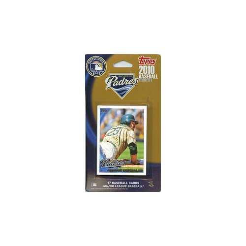 San Diego Padres 2010 Topps Team Set - Special Order