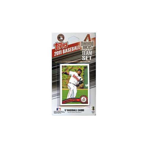 Arizona Diamondbacks 2011 Topps Team Set - Special Order