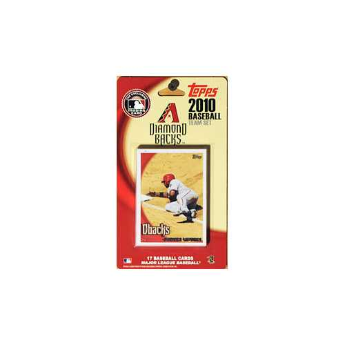 Arizona Diamondbacks 2010 Topps Team Set - Special Order