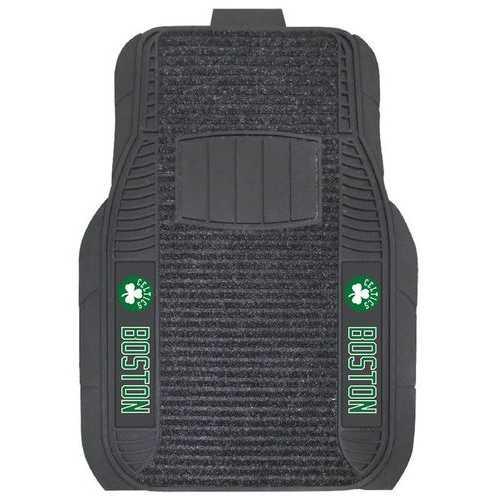 Boston Celtics Car Mats - Deluxe Set Special Order