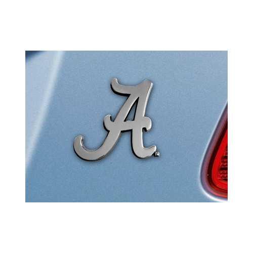 Alabama Crimson Tide Auto Emblem Premium Metal FanMats Special Order