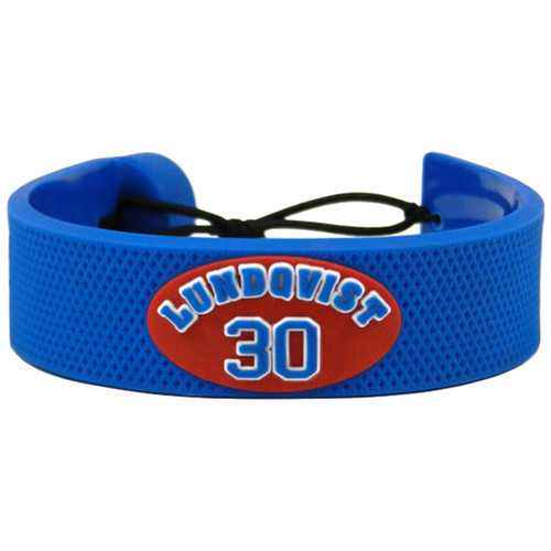 New York Rangers Bracelet Team Color Jersey Henrik Lundqvist Design