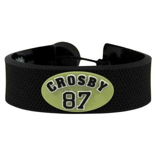Pittsburgh Penguins Bracelet Team Color Jersey Sidney Crosby Design