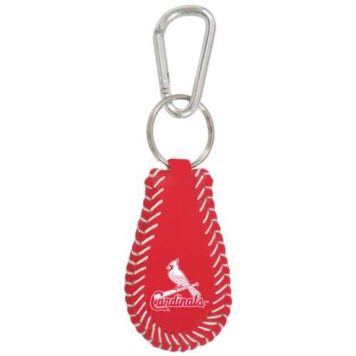 St. Louis Cardinals Keychain Team Color Baseball