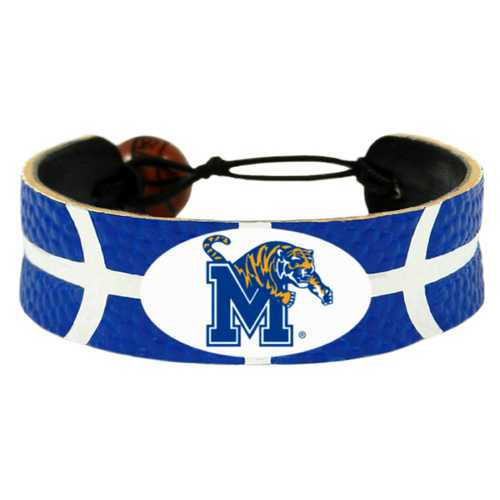 Memphis Tigers Team Color Basketball Bracelet