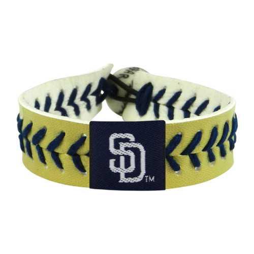 San Diego Padres Bracelet Team Color Baseball Sand