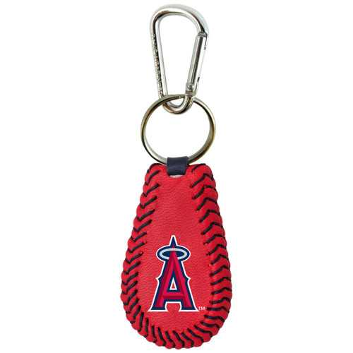 Los Angeles Angels Keychain Team Color Baseball