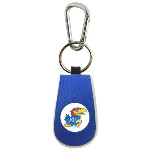 Kansas Jayhawks Keychain Team Color Basketball