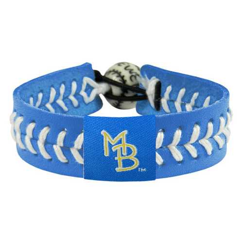 Myrtle Beach Pelicans Bracelet Team Color Baseball