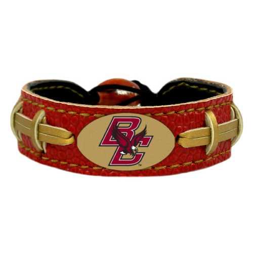 Boston College Eagles Team Color Football Bracelet
