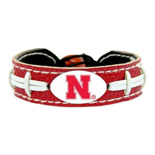 Nebraska Cornhuskers Bracelet Team Color Football