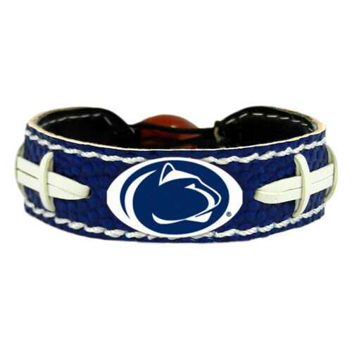 Penn State Nittany Lions Bracelet Team Color Football
