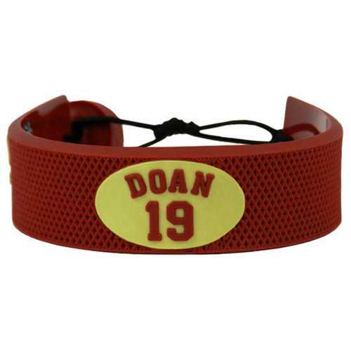 Arizona Coyotes Bracelet Team Color Jersey Shane Doan Design